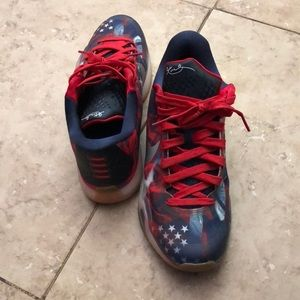 reputable site ca6c5 8e119 Nike Shoes - Kobe 10 ( Independence Day ) size 8.5